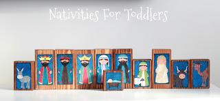 Toddler Friendly Nativity Scenes
