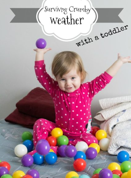 Ways to entertain your kids on snowy/rainy days