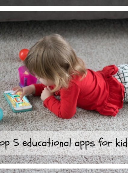 Our top 5 Favorite Educational Apps.