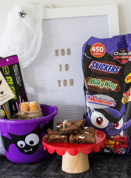 DIY Haunted Brownies+BOO in bulk BOO Kits