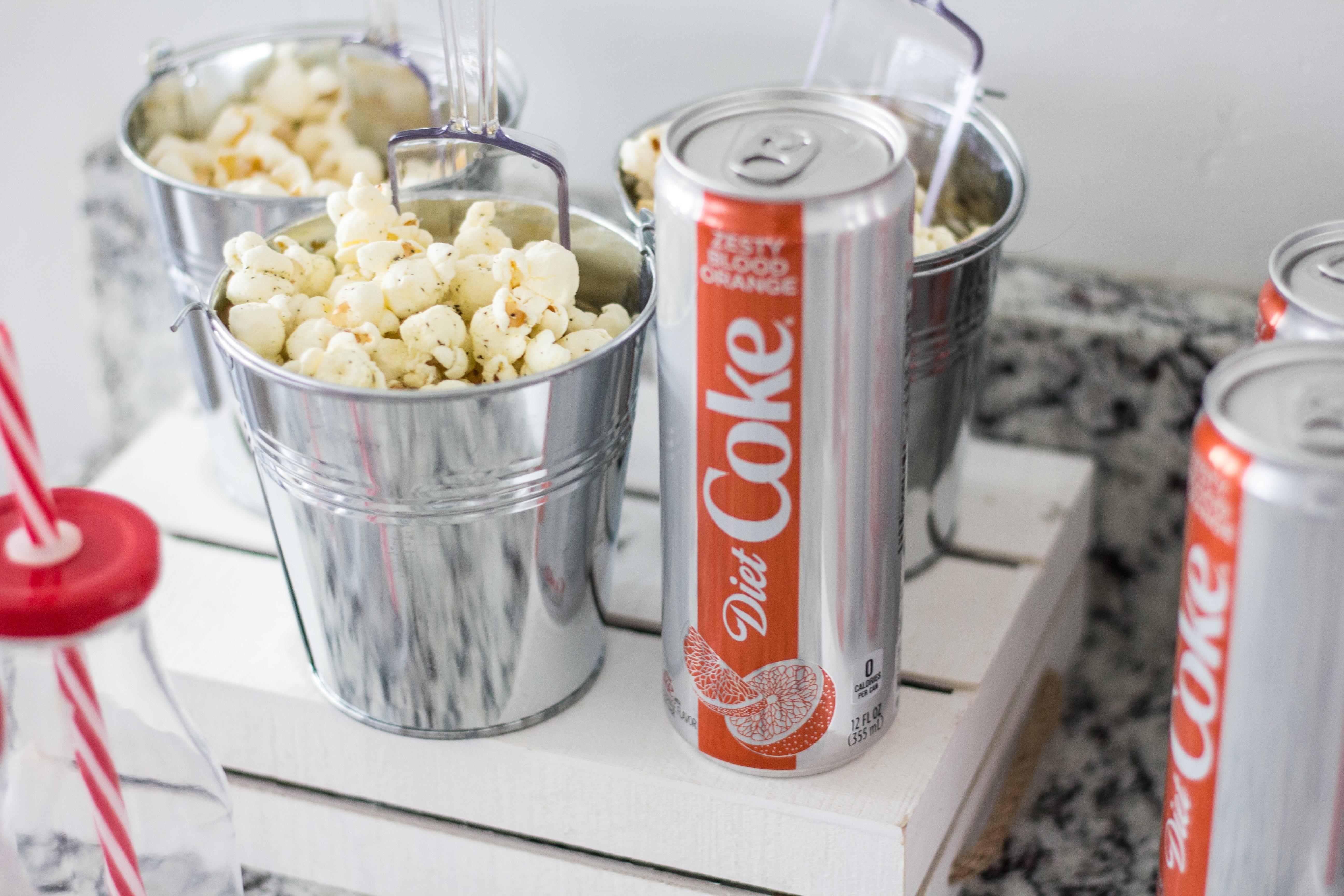 Diet Coke and Popcorn Bar