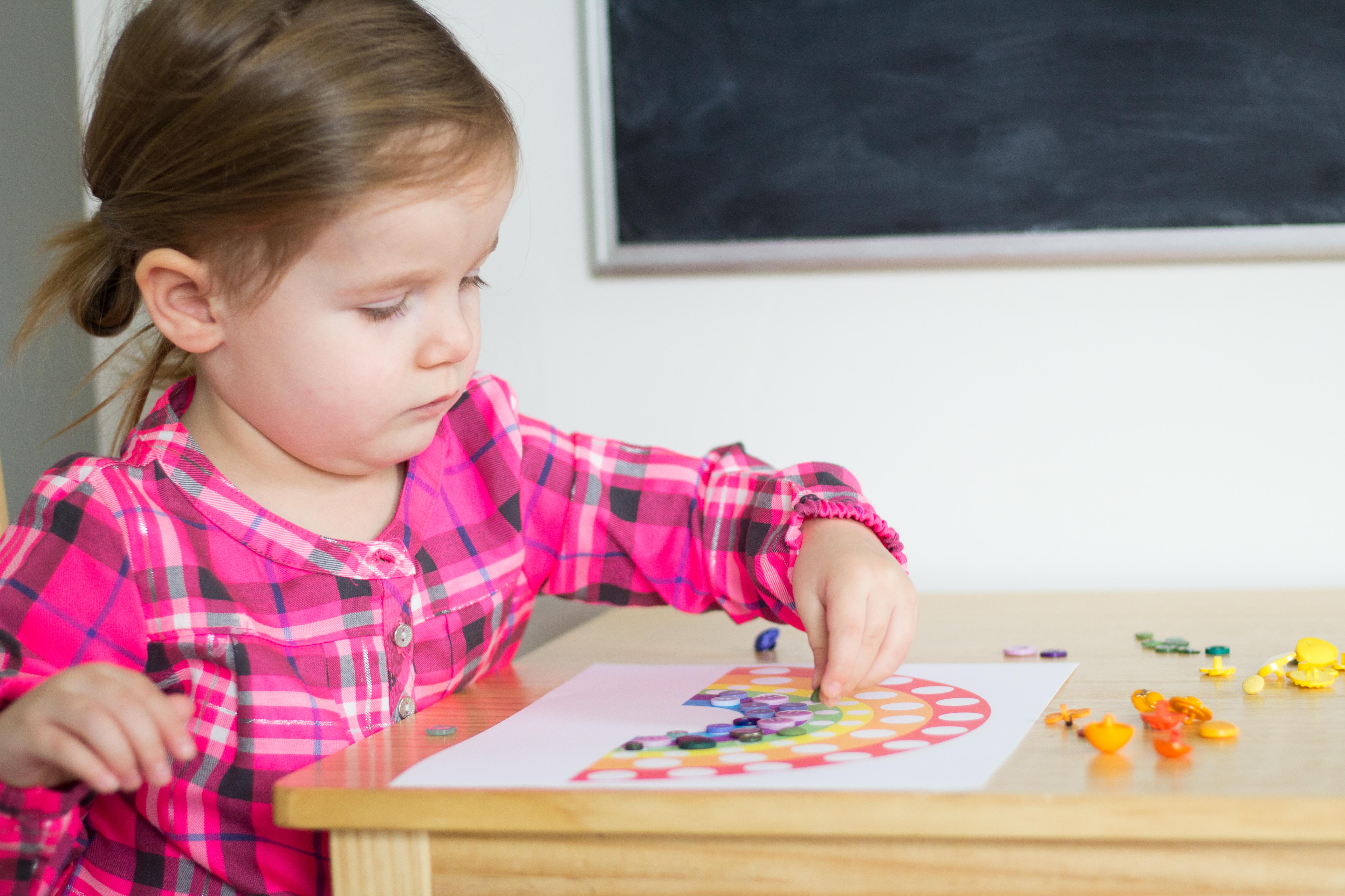 Montessori Rainbow Unit