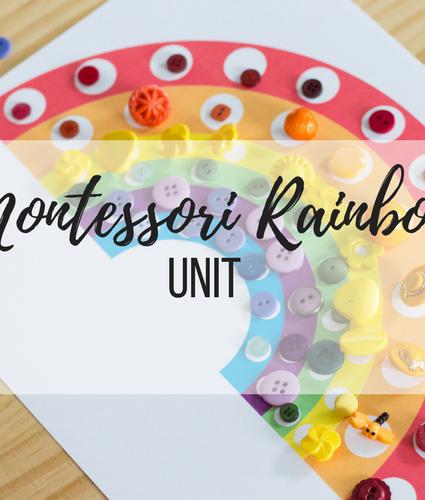 Montessori: Rainbow Unit