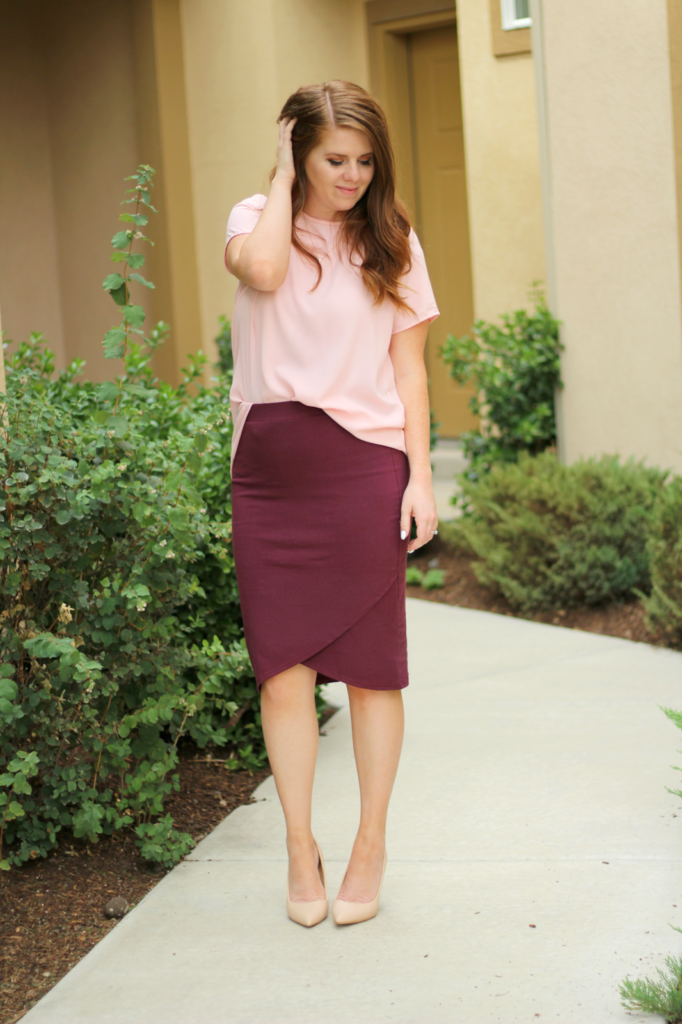 How to Style Pencil Skirts