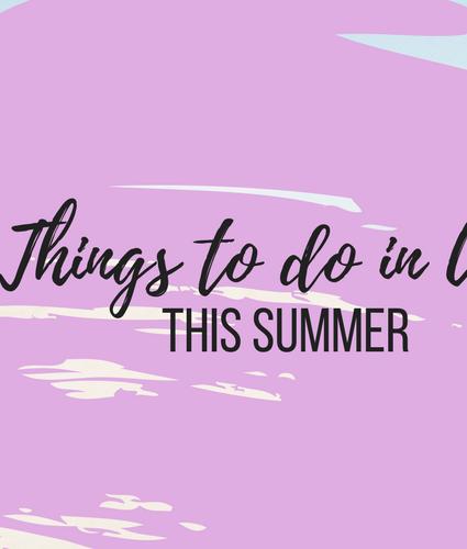 Fun things to do during Spring-Summer in Utah