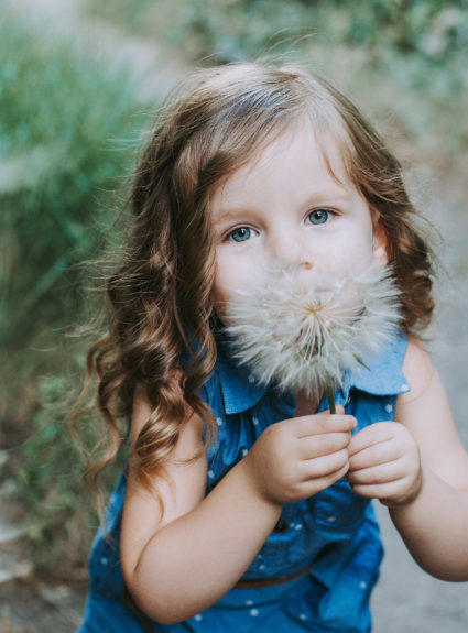 Aria's Chambray Dress: Cute outfit idea for your little girl