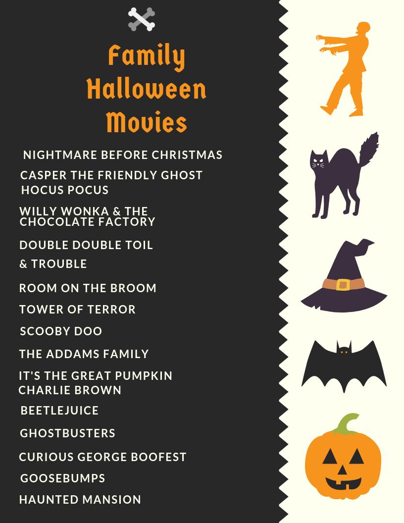 Family Halloween Movies