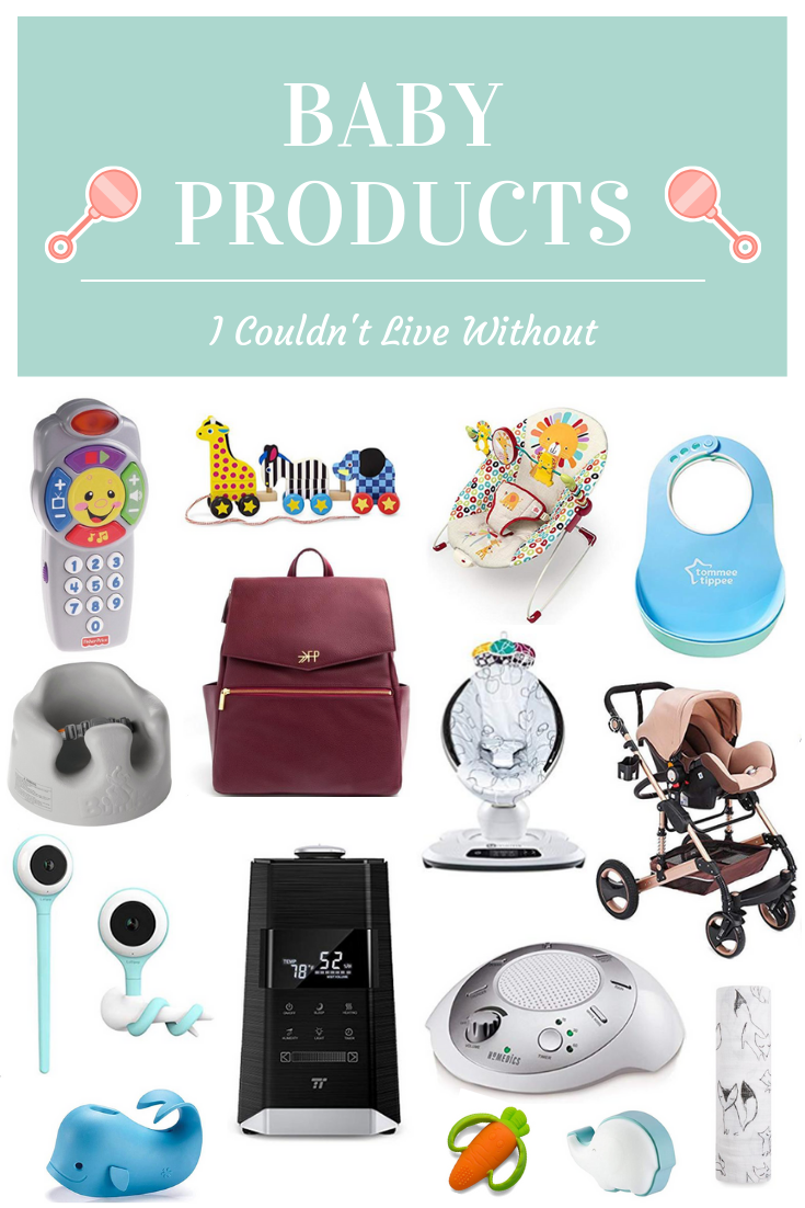 Baby Products I can't live without