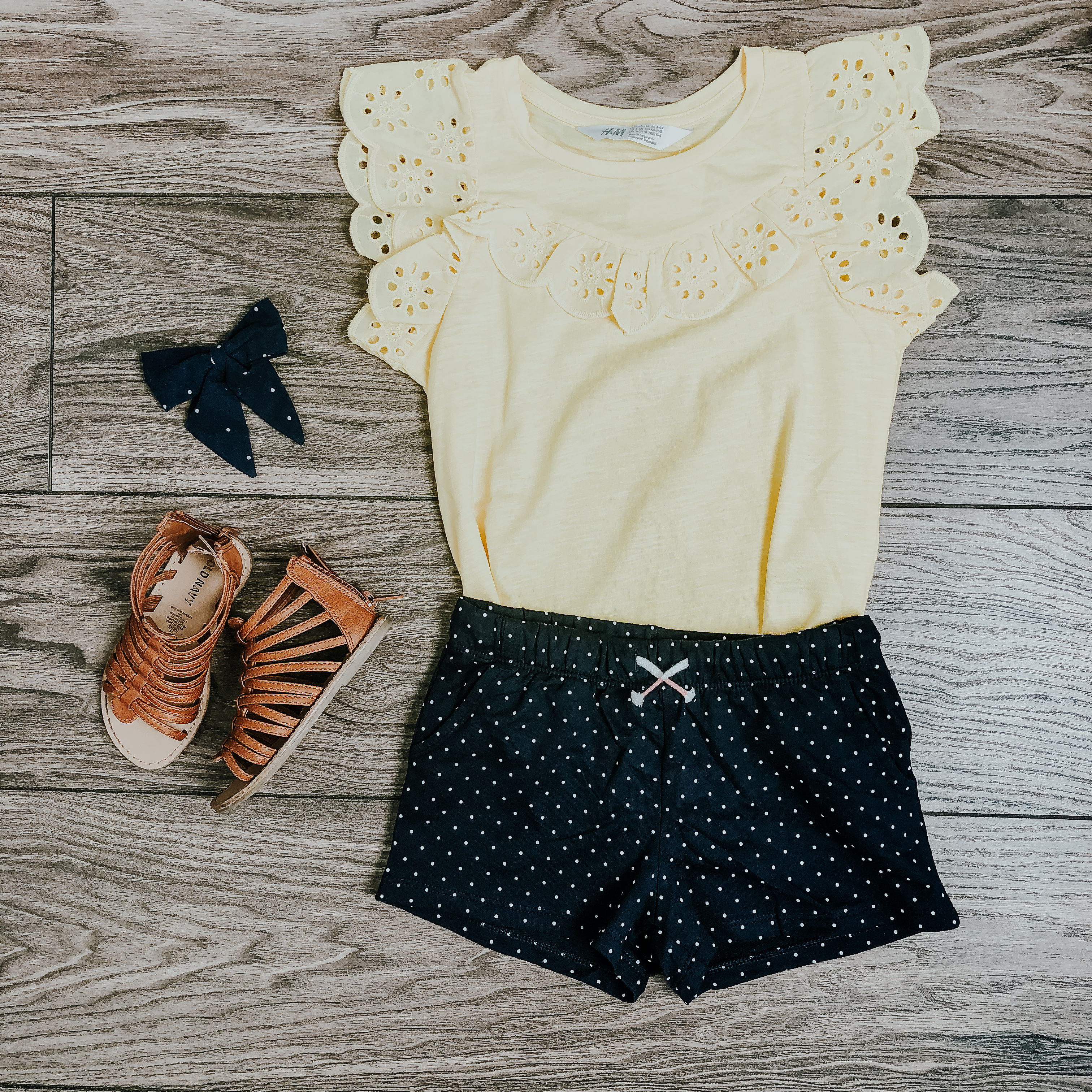 Spring outfits for little girls