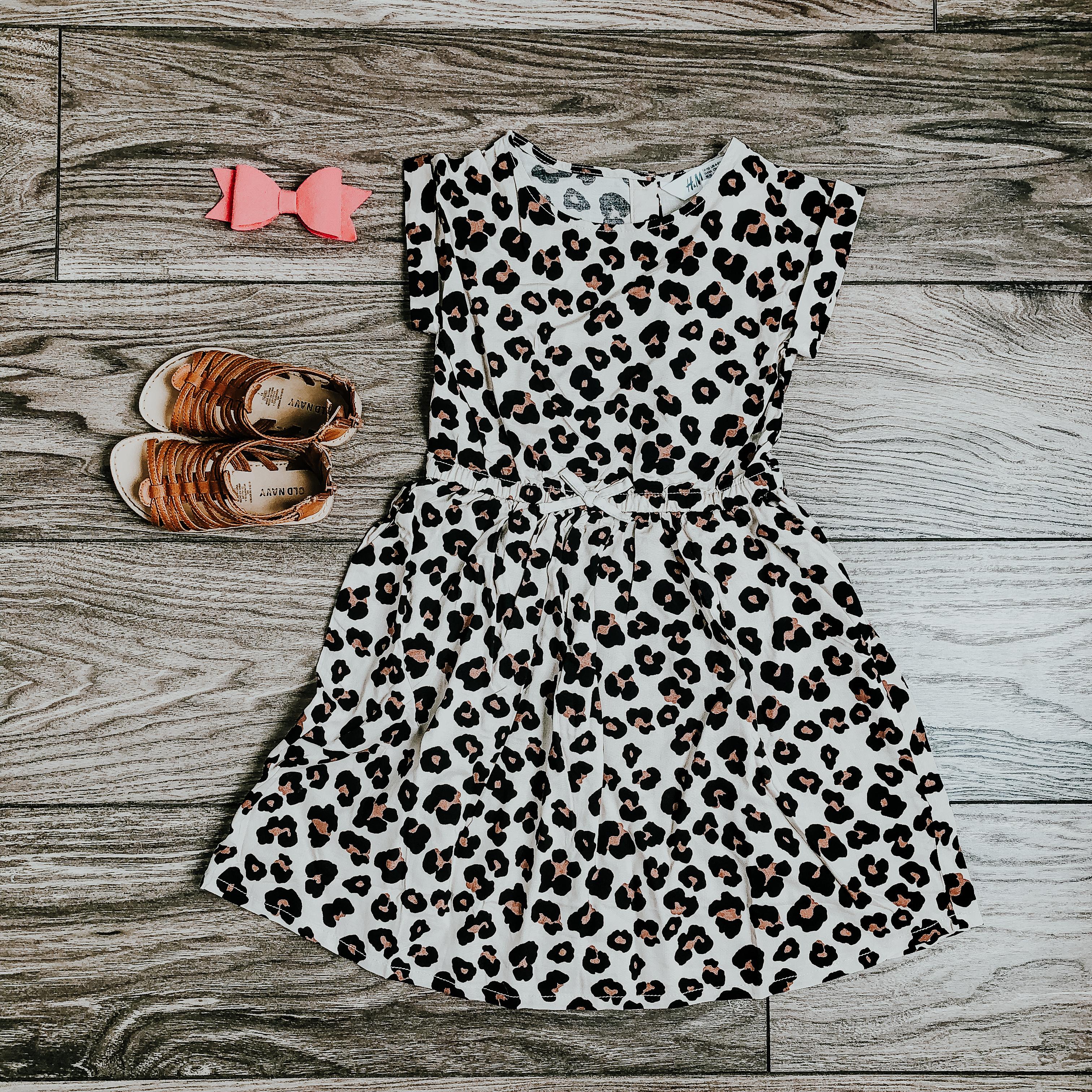 animal print dress for little girls