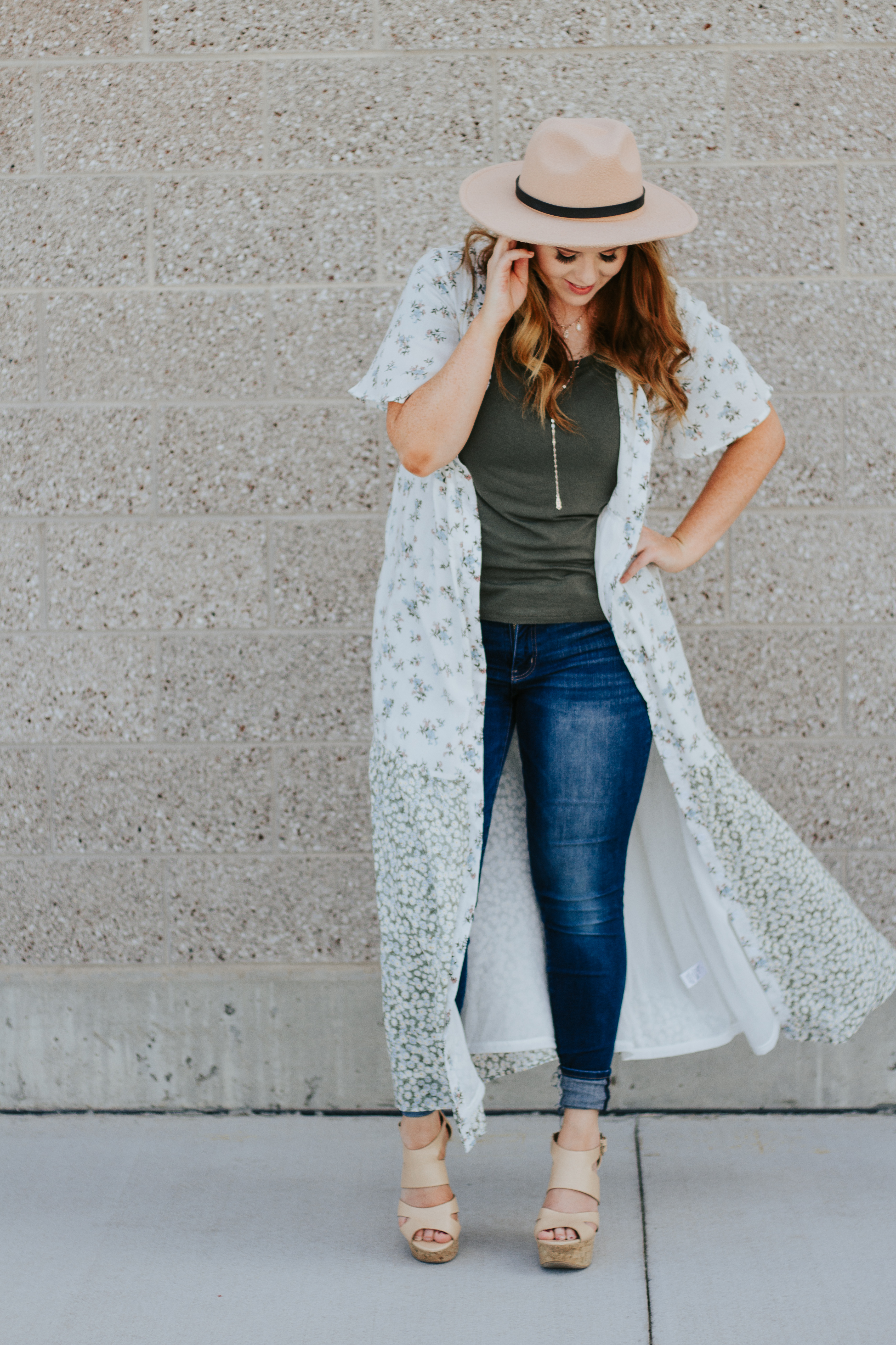 styling a dress as a duster