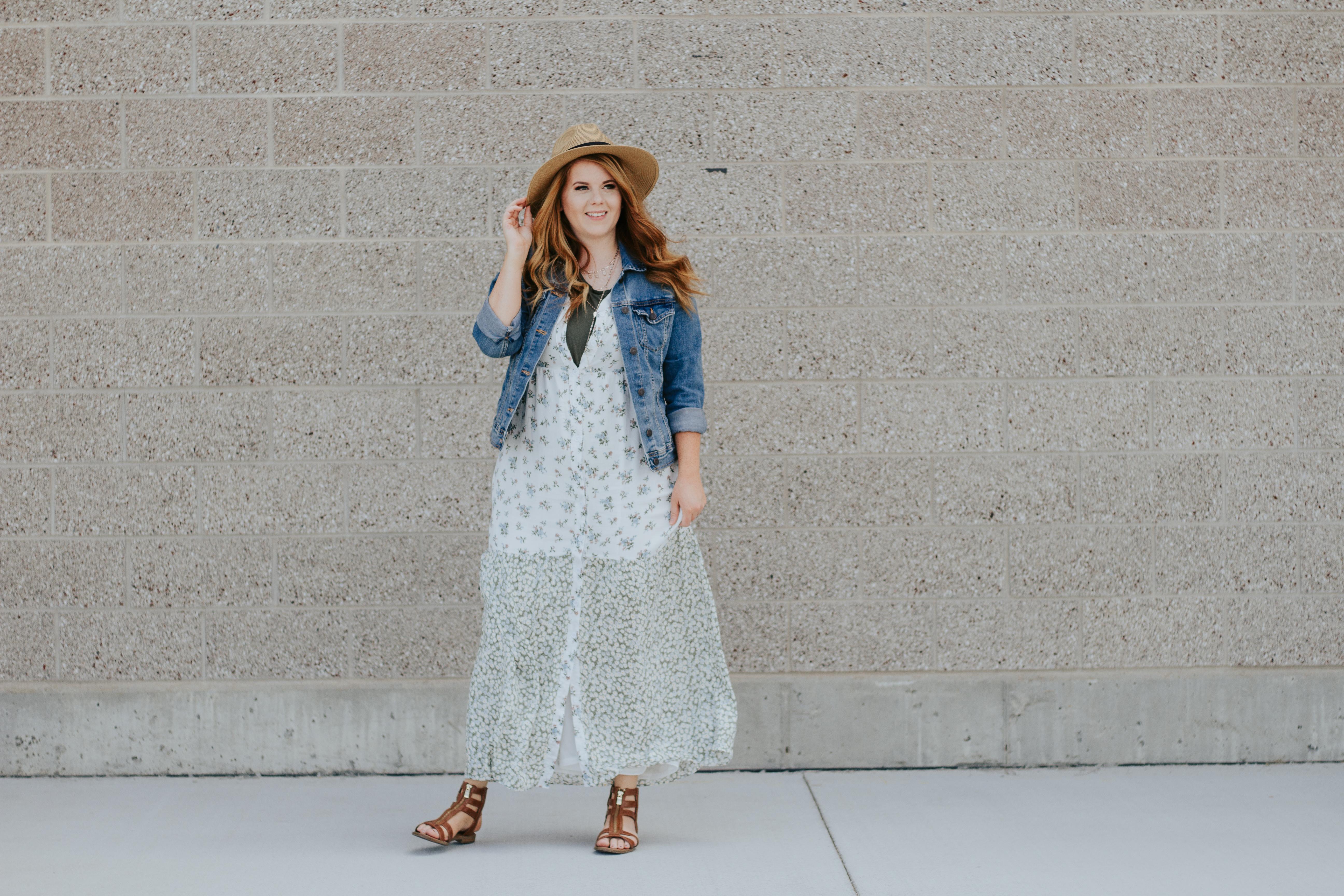 styling a dress three ways