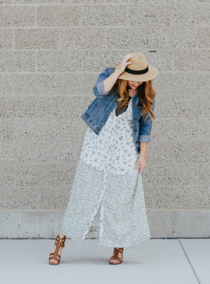 Three ways to style a button up dress