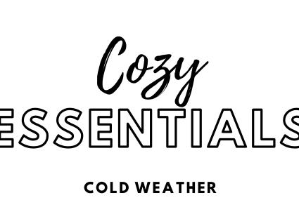 Cozy Essentials: Cold Weather