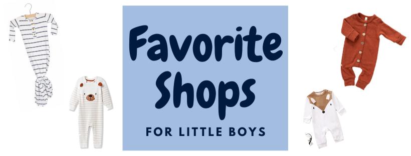 favorite shops for little boys