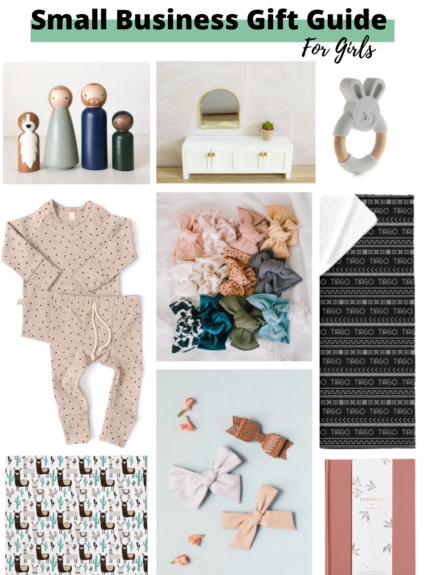 Small Business Gift Guide: For Girls