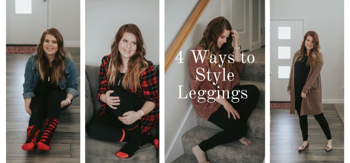 4 Ways to style Leggings
