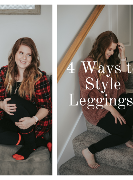 4 Ways to style Leggings