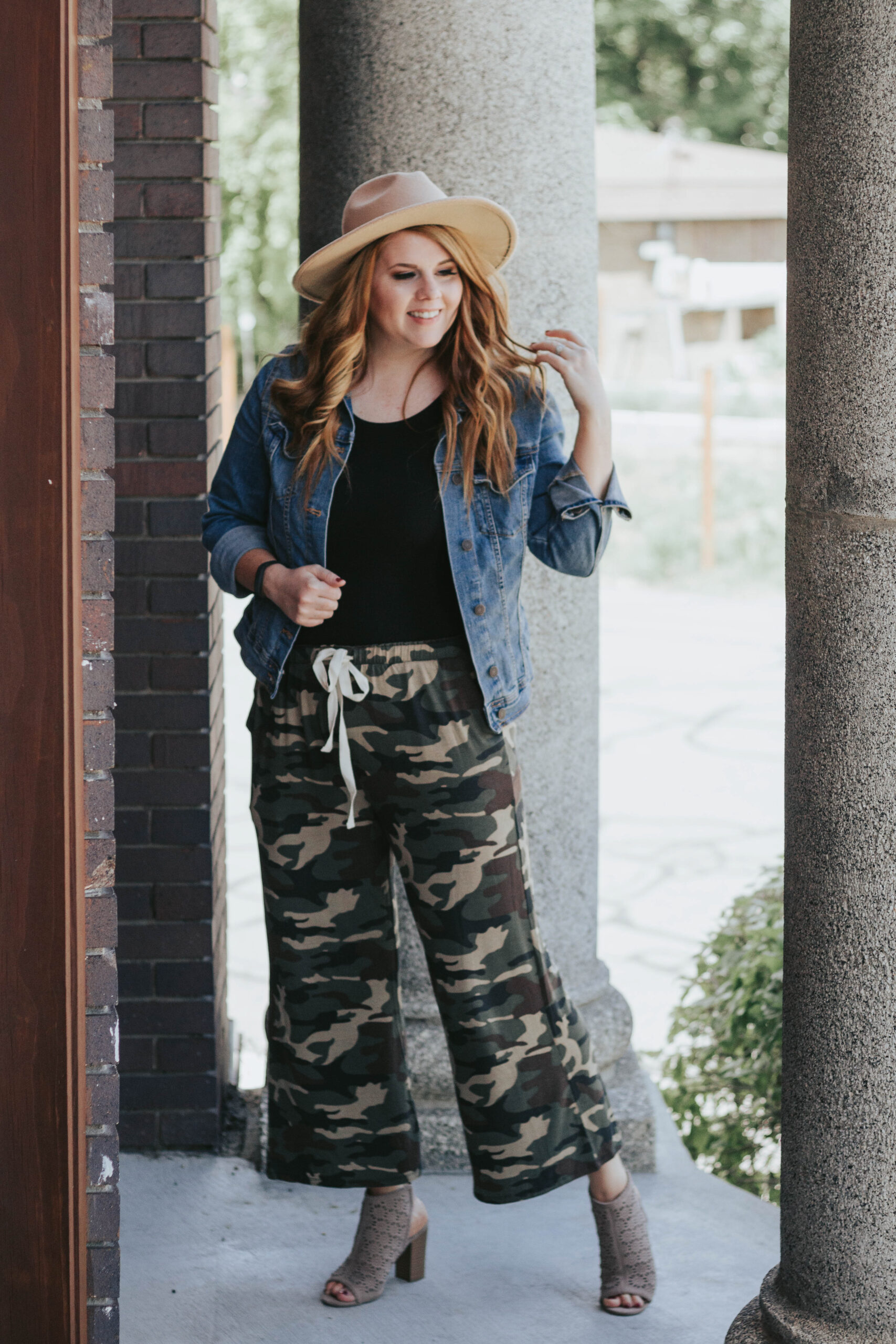 camo pants outfit