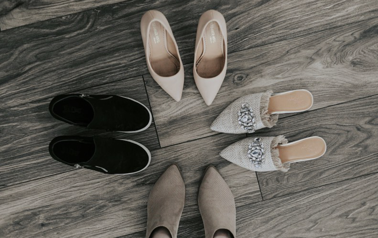 Four shoes for your closet