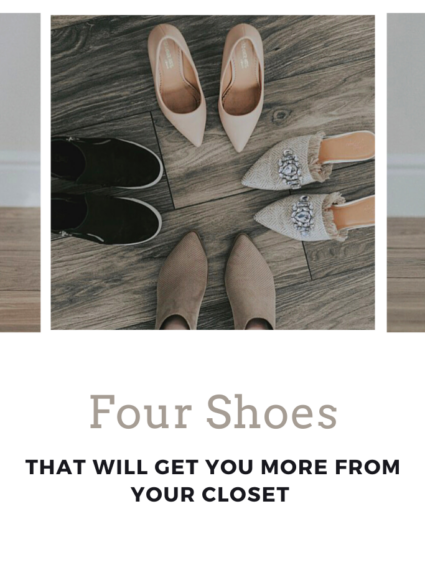 Four pairs of shoes that will get you more out of your closet