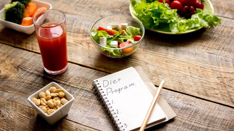 making a diet plan