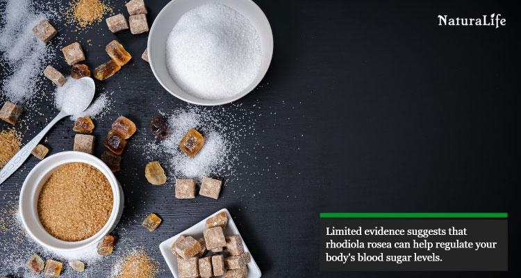 rhodiola can help regulate blood sugar levels
