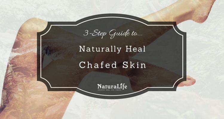 3 steps to heal chafing