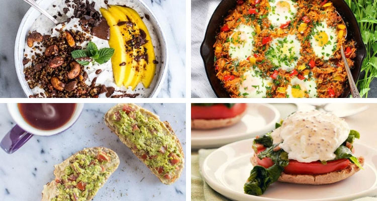 healthy breakfast recipes blog cover