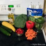 Vegetables for Chicken Gardiano