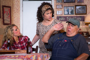 AS Sara Lee in Daddy's Dyin Whose Got the Will at the Abbeville Opera House