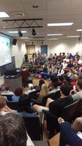 Classroom Photo of Lisa Biggs Webinar
