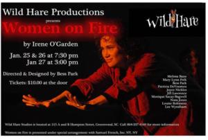 As Rita in Women on Fire