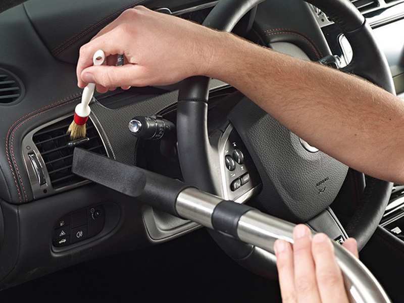 Carz Shine Auto Spa interior vent cleaning