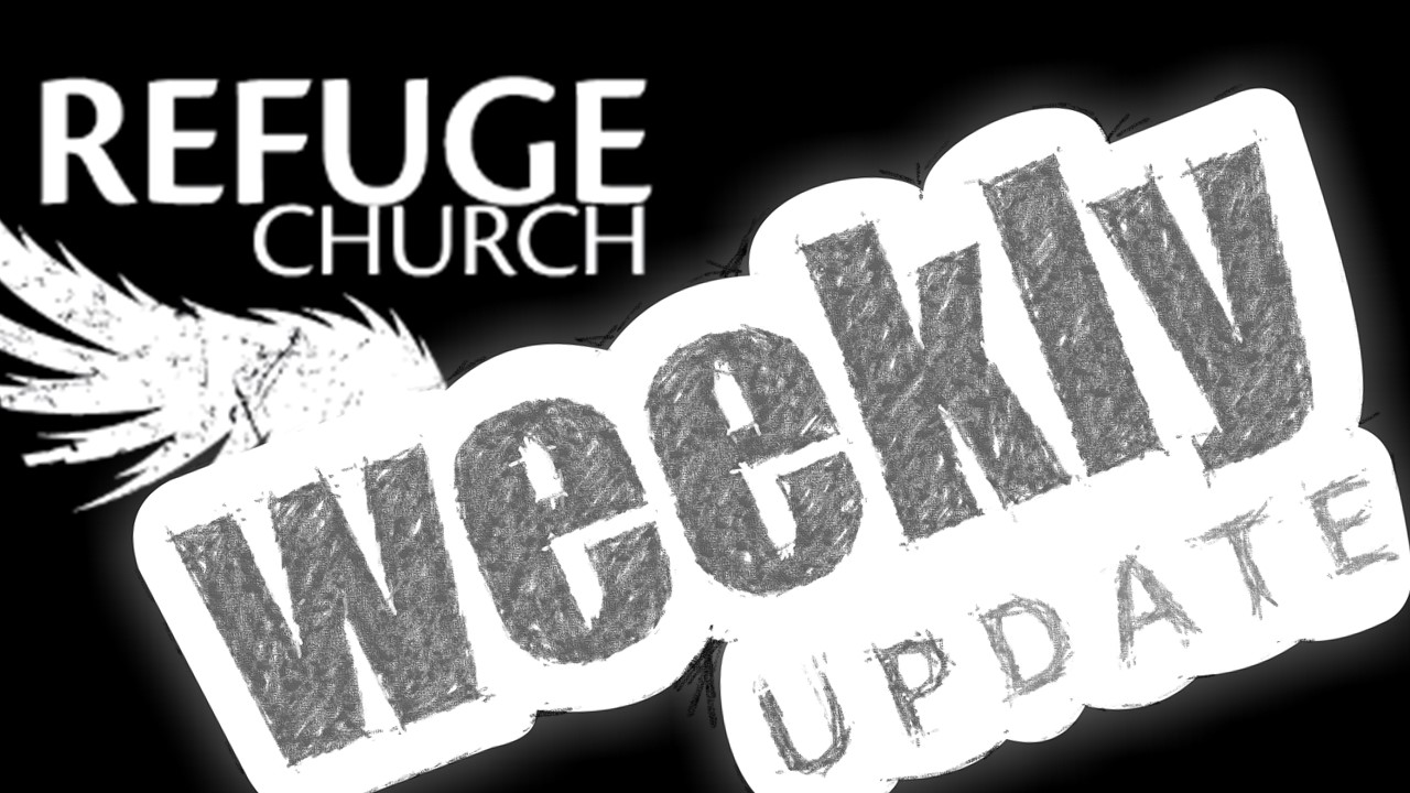 Your REFUGE Weekly 11-20 Endings and Beginnings