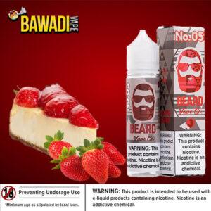 NO. 05 ( cheesecake with strawberries ) BEARD VAPE Co
