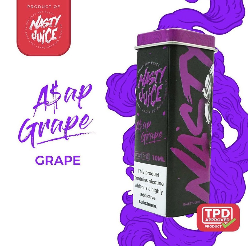 Asap Grape Dubai Eliquid UAE Vape