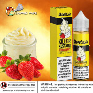 STRAWBERRY KILLER KUSTARD BY VAPETASIA dubai