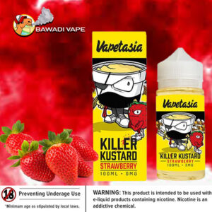 STRAWBERRY KILLER KUSTARD BY VAPETASIA
