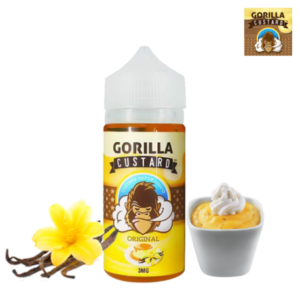 ORIGINAL BY GORILLA CUSTARD – 100ML