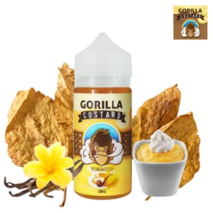 TOBACCO BY GORILLA CUSTARD – 100ML