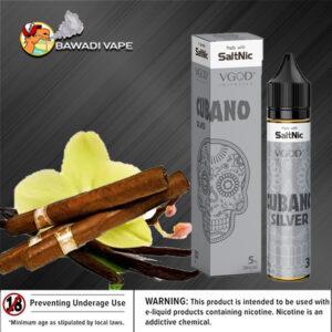 CUBANO SILVER SALTNIC BY VGOD Dubai