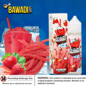 BAZOOKA STRAWBERRY SOUR STRAWS ICE Dubai UAE