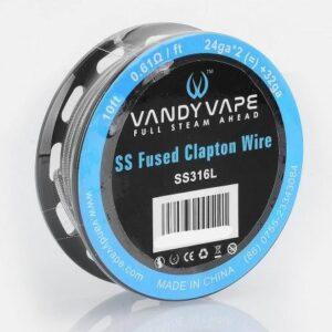 VANDY VAPE - SS FUSED CLAPTON WIRE