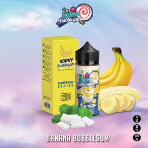 BANANA BUBBLEGUM BY HORNY BUBBLEGUM SERIES - 120ML