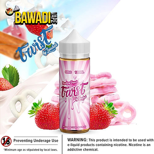 STRAWBERRY DIPPED TWIST BY LOADED – 120ML