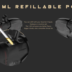 Uwell Tripod Repalcement Cartridge 2ml 4PCS/Pack
