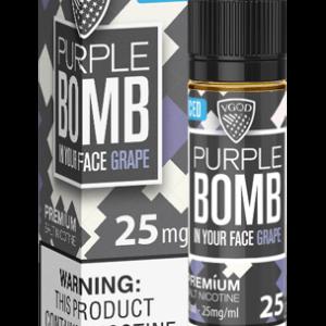 PURPLE BOMB ICED SALTNIC BY VGOD