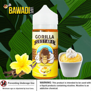 ORIGINAL BY GORILLA CUSTARD – 100ML DUBAI VAPE UAE