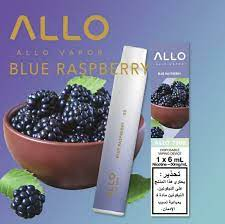 BLUE RASPBERRY BY ALLO DISPOSABLE 1500 PUFFS